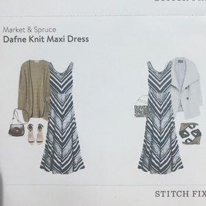 Market & Spruce Dresses - Market &Spruce Dafne knit maxi dress